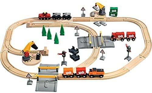 בריו מסילת רכבת + תחנת נשיאה והטענה 33165 BRIO