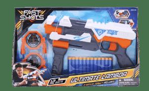FAST SHOTS - רובה חיצים עם 12 חיצים ו-2 מטרות