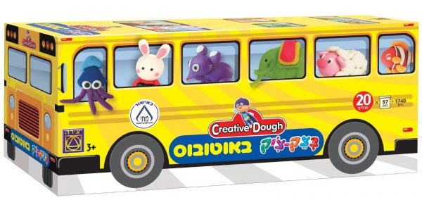 בצק-צ'יק - באוטובוס - משחקי יצירה