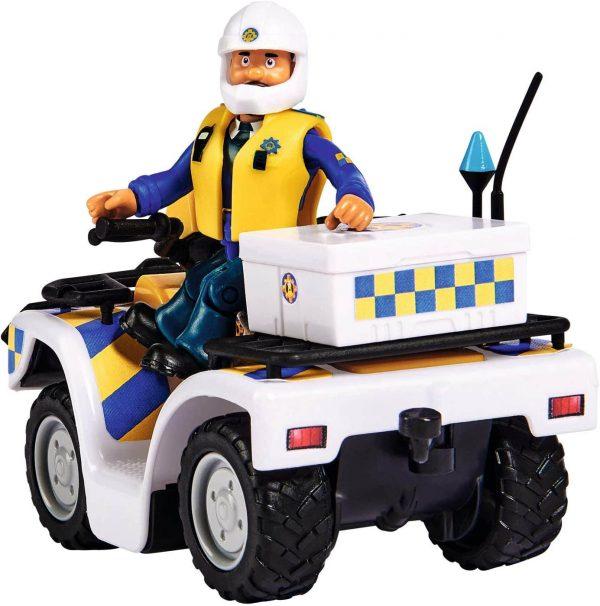 סמי הכבאי - אופנוע משטרתי עם דמות