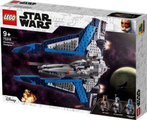 לגו מלחמת הכוכבים - חללית הלחימה של מנדלוריאן 75316