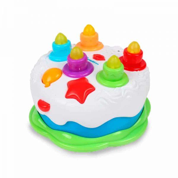 עוגת יום הולדת דוברת עברית