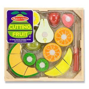 סט חיתוך פירות מעץ - מליסה ודאג