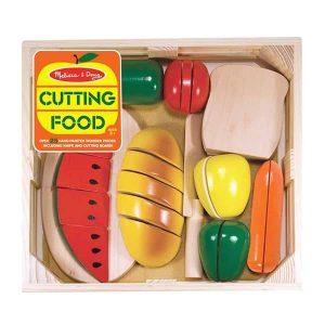 סט חיתוך מזון מעץ - מליסה ודאג