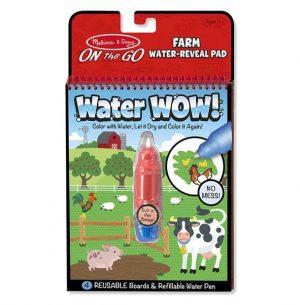חוברת טוש המים - חווה - מליסה ודאג