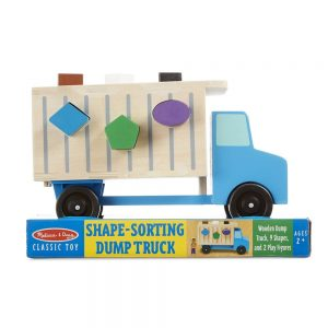 משאית אשפה התאמת צורות מעץ - מליסה ודאג