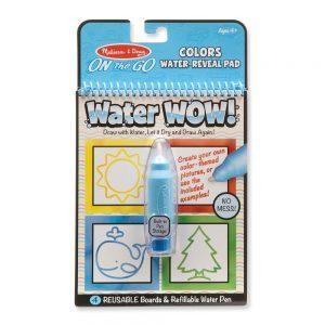 חוברת טוש המים - צורות וצבעים - מליסה ודאג