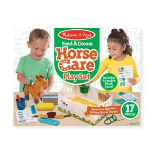 ערכה לטיפול וטיפוח סוסים - מליסה ודאג