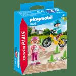 48658פליימוביל – ילדים עם אופני BMX וגלגיליות 70061