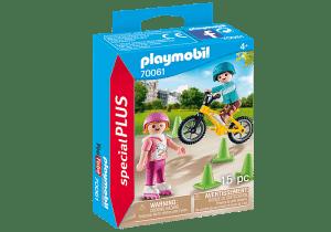 פליימוביל - ילדים עם אופני BMX וגלגיליות 70061