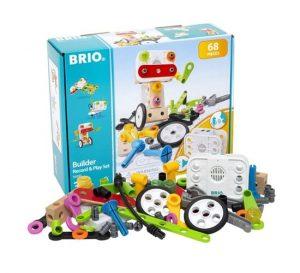 בריו קטר צבעוני נוסע עם אורות 33594 BRIO