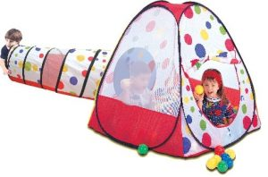 iam - אוהל כדורים עם מנהרה ו-100 כדורים