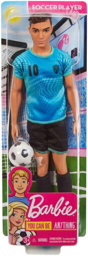 ברבי קן קריירה - שחקן כדורגל