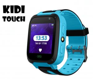KidiWatch - שעון חכם לילדים KIDI TOUCH - בצבע כחול