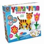 51700חרוזי גיהוץ – חתול ופרחים – משחקי יצירה