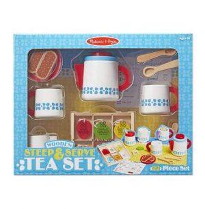 סט כלי תה מעץ - מליסה ודאג