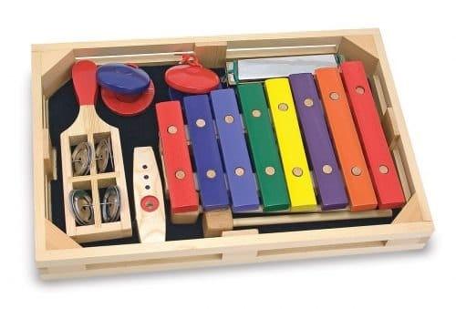 סט כלי נגינה מעץ מצלצלים ומשקשקים - מליסה ודאג