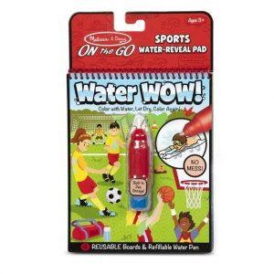 חוברת טוש המים - ספורט - מליסה ודאג