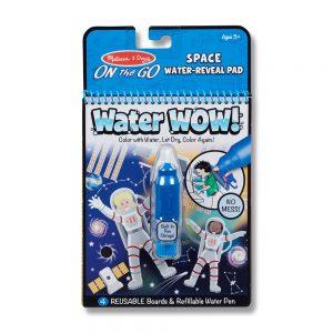 חוברת טוש המים - חלל - מליסה ודאג