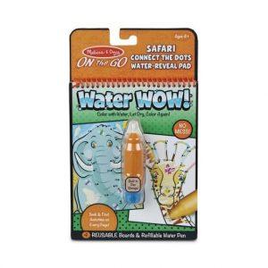 חוברת טוש מים ספארי - חבר את  הנקודות - מליסה ודאג