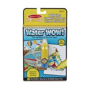 חוברת טוש המים תחבורה - חבר את הנקודות - מליסה ודאג