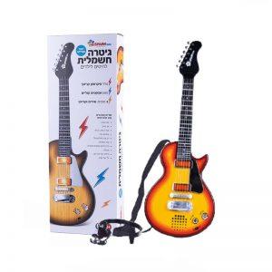 גיטרה חשמלית להיטים לילדים - דוברת עברית