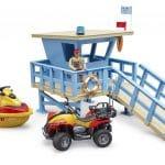 51605תחנת מציל עם טרקטורון ואופנוע ים – ברודר 62780