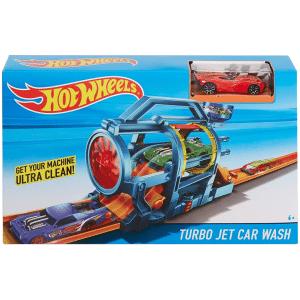 הוט ווילס - ערכת משחק לרכב טורבו ג'ט