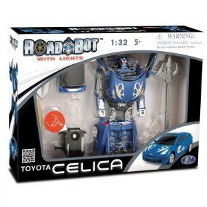 רובוטריק טויטה אלקטרוני בצבע כחול