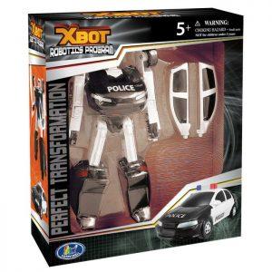 """רובוטריק מכונית משטרה כ-15 ס""""מ"""