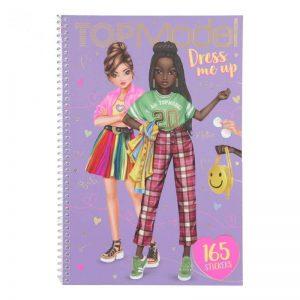 טופ מודל - חוברת לעיצוב בגדים