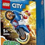 53394לגו סיטי – אופנוע פעלולי טיל 60298