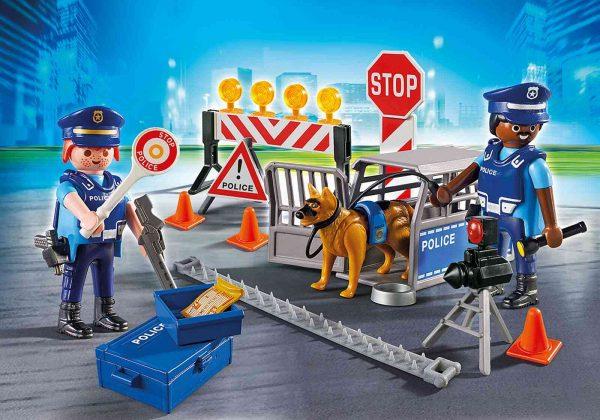פליימוביל - מחסום דרכים משטרתי 6924