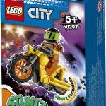 53388לגו סיטי – אופנוע פעלולי הריסה 60297