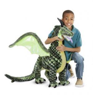 בובת דרקון ענקית - מליסה ודאג