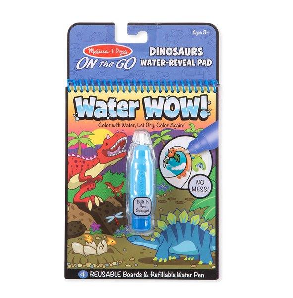 חוברת טוש מים - דינוזאורים - מליסה ודאג