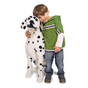 בובת כלב דלמטי ענקית - מליסה ודאג