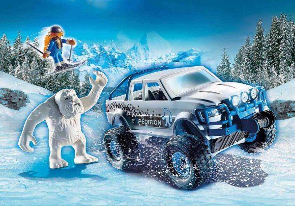 פליימוביל - משלחת חיית השלג 70532